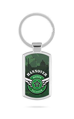 Schlüsselanhänger mit Gravur Wunschtext Name Hannover