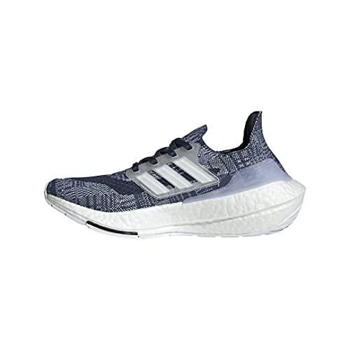 adidas Ultraboost 21 Running Shoes, Crew Blue/White/Crew Navy, 6.5 US Unisex Big Kid