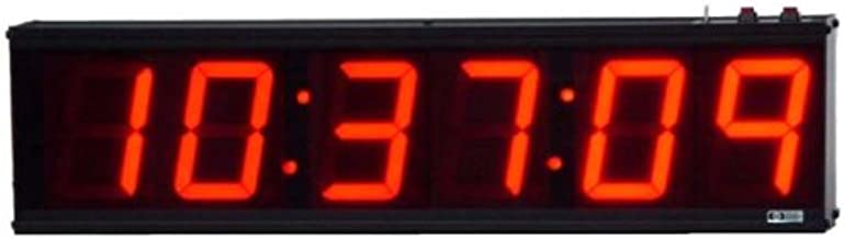 AE46D/CC Stand-Alone, 6-Digit, Multi-Function Clock/Timer with 4-inch High Digits