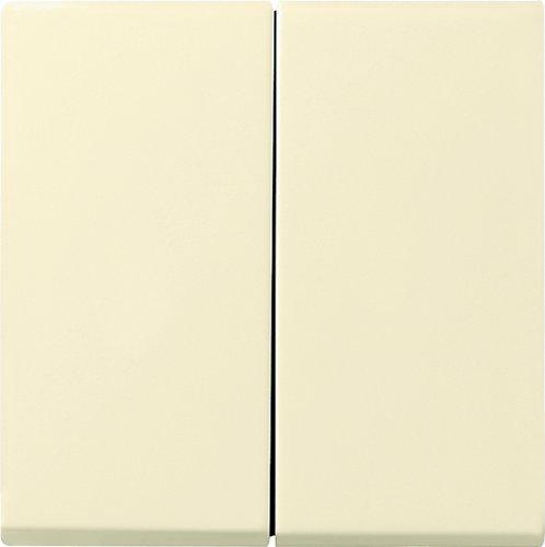 Gira 231501 Aufsatz Seriendimmer System 55, cremeweiß