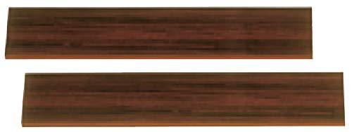 甲南 ピアノ用敷板 マホガニー 2枚1セット コウナン