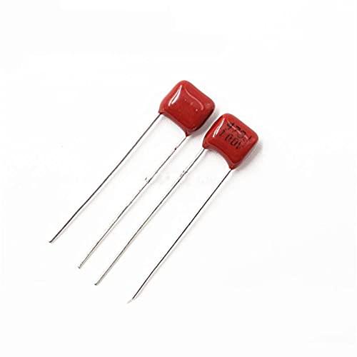 QIANGQRFV Condensadores 10pcs 100v473j 0.047uf 47nf Pitch 5mm 100v 473 CBB Polypropylene Film Capacitor