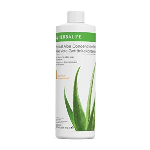 Herbalife Aloe Concentrado Sabor Aloe Mango 473 ml Bebida Sana Refrescante