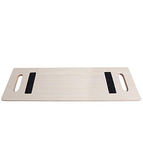 QINAIDI Transfer Board by - Patient Slide Assist-Gerät zur Überführung des Patienten vom Rollstuhl ins Bett, in der Badewanne, im WC, im Auto - Bariatrische Hochleistungs-Schiebeplattform aus Holz
