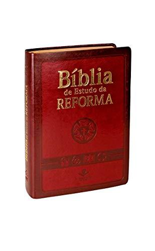 Bíblia de Estudo da Reforma Vinho