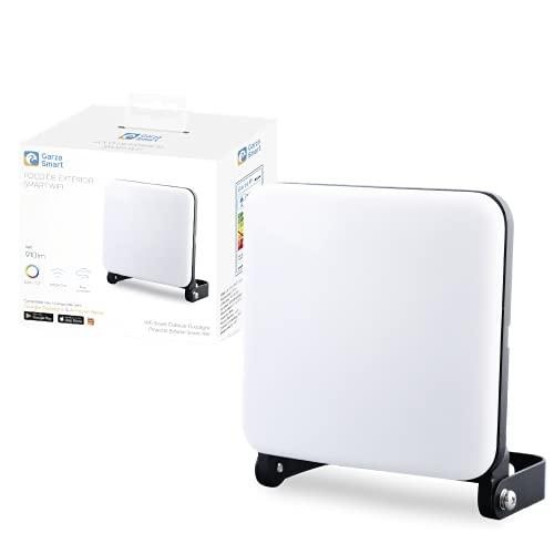 Garza ® Smarthome - Foco LED Inteligente Wifi 14W, Luz blanca regulable con cambio intensidad, temperatura y color. Programable, compatible con Amazon Alexa y Google Home.
