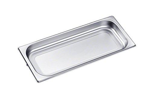 Miele Original Zubehör DGG 20 Dampfgarbehälter ungelocht / für Dampfgarer / 2,4 l / zur Zubereitung von Speisen in Saucen, Fonds, Wasser