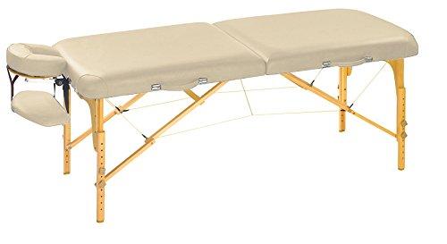 Mobile Massageliege Clap Tzu CLASSIC PRO SET, 184x75 cm, crema