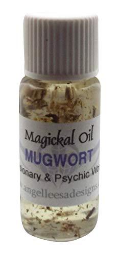 Angelleesa | Mugwort Herbal Infused Magickal Incense Oil