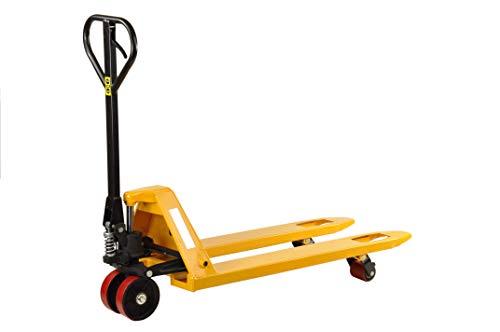 Pro-Lift-Werkzeuge Palettenwagen Hubwagen 2000 kg Traglast Gabelhubwagen 1150 mm Gabellänge Handhubwagen für Europaletten 2 t