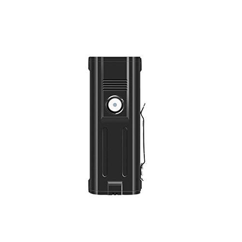 Linterna Pequeña Linternas LED USB Recargables 8000 Alto Lumens Linterna Zoom Linterna Poderosa Para Acampar Emergencia Al Aire Libre Portátil Linterna (Color : A)