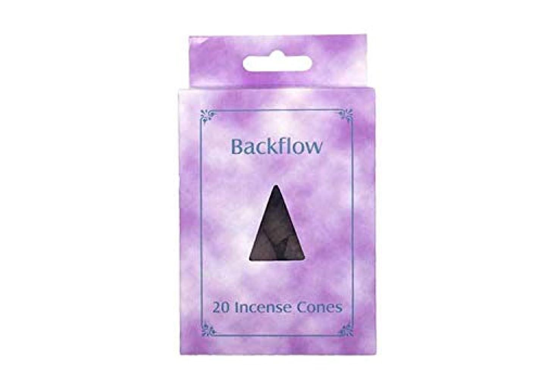 毎日大砲長さお香 逆流コーン 逆流香 20p ローズ Backflow Incense Cones 20p Rose