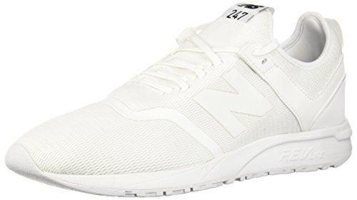 New Balance Men's 247d1 Sneaker, White/White, 11 D US