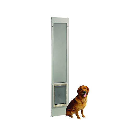 Fast Fit Pet Patio Door 80' Extra Large (White)