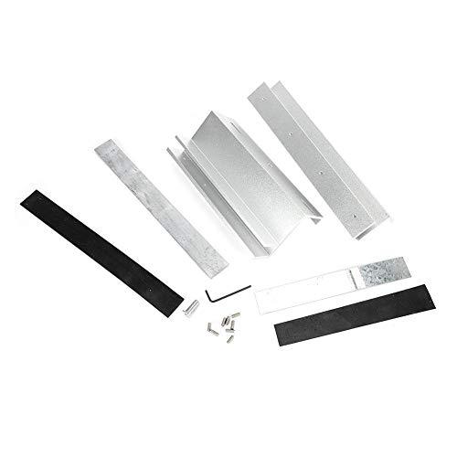 Elektrisch stekkerslot, 280 kg/617,3 lb Deur UL-montagebeugelhouder Standaard voor elektrisch magnetisch slot, voor houten deuren, veiligheidsdeuren
