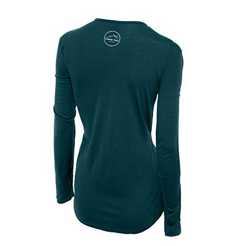 Roman Trail Outfitters Merino Wool Women's Long Sleeve Top |Crew Neck...