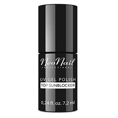 NeoNail UV Nagellack 7,2 ml - Top Sunblocker - UV Lack Gel Polish Soak off Nagellack UV Gel LED Polish Lack Shellac