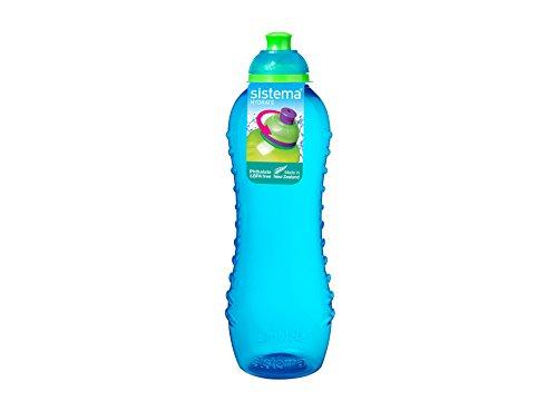 Sistema Twist 'n' Sip Trinkflasche ohne BPA 620ml, blau