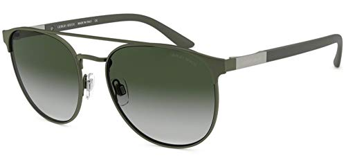 Armani GIORGIO 0AR6083 Gafas de sol, Matte Green, 57 para Hombre