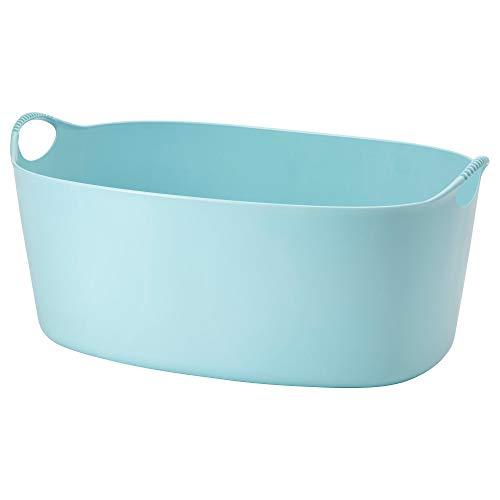 IKEA/イケア TORKIS:フレキシブルランドリーバスケット35 L ブルー (303.392.26)