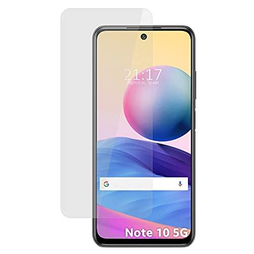 MB ACCESORIOS Protector de Pantalla, Cristal Templado con Pegamento Completo para Xiaomi Redmi Note 10 5G/Pocophone M3 Pro 5G