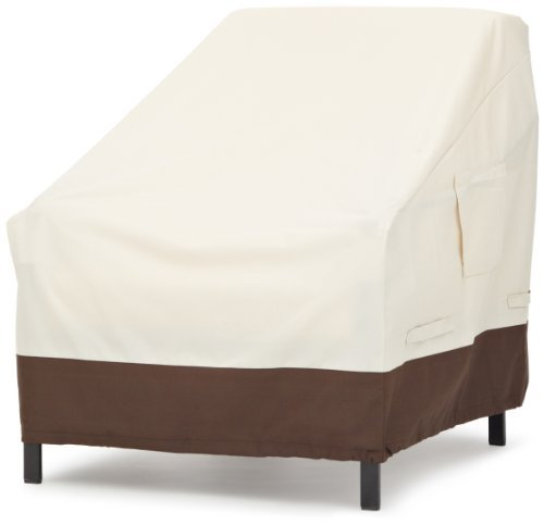 AmazonBasics Lounge Deep Seat Furniture Cover, Set of 2
