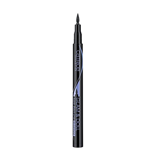 Catrice - Eyeliner - Glam & Doll Super Black Liner Waterproof