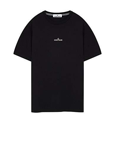Luxury Fashion | Stone Island Heren 72152NS84V0029 Zwart Katoen T-shirts | Lente-zomer 20