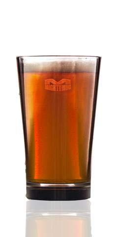 Firebox Lot de 2 verres à bière en plastique Tritan