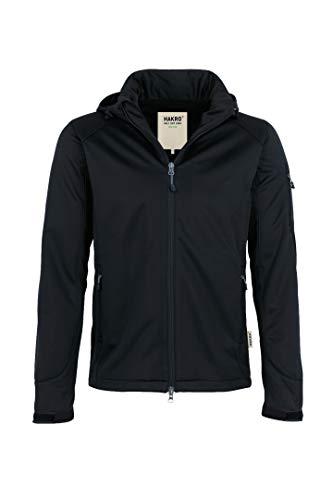 HAKRO Softshell-Jacke Ontario - 848 - schwarz - Größe: XL