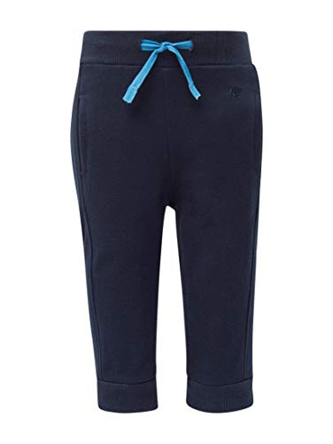 TOM TAILOR Jungen Hosen & Chino Jogging Hose mit Stickerei Navy Blazer|Blue,80