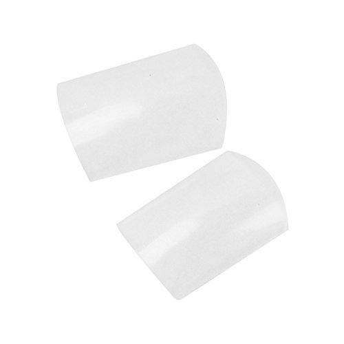 500 Capsules en plastique transparent artificielle Faux Faux Ongles pour orteils ongles Salon Art Design universitaire.