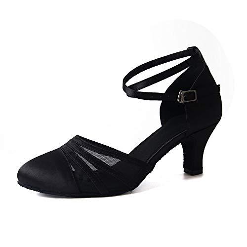 Syrads Zapatos de Baile Latino para...