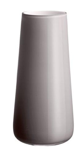 Villeroy & Boch Numa Große Vase Pure Stone, 34 cm, Glas, Grau