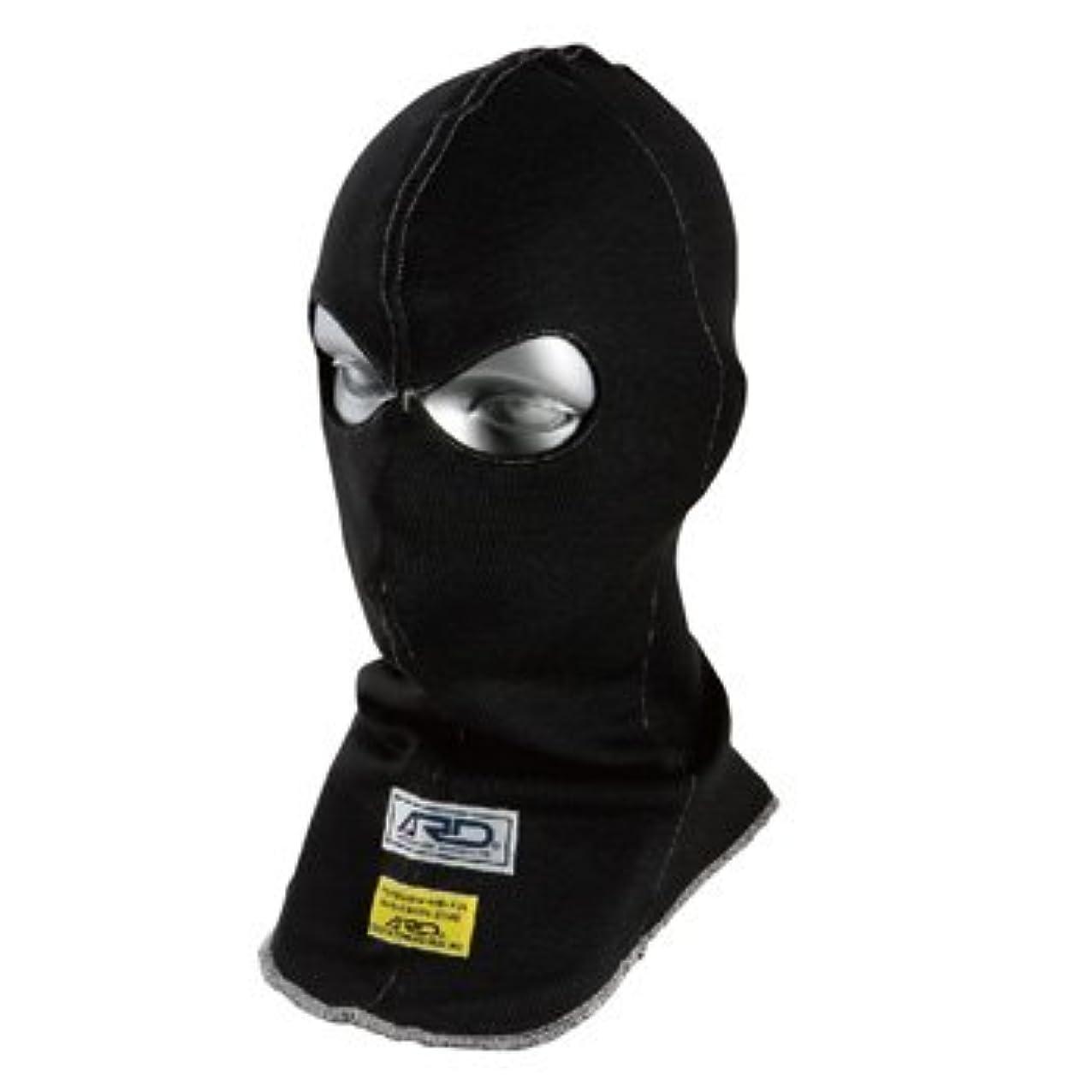 明らかにシュリンク磁気ARD フェイスマスク 2ホール ARD-544 FREE/ブラック 【FIA公認】