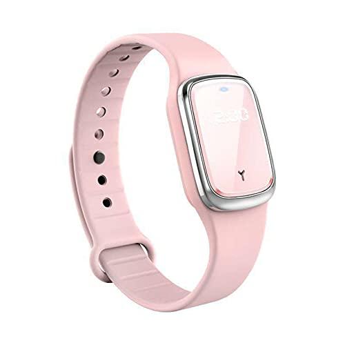 Staright Mückenschutz-Armbänder, Elektronische Mückenschutz-Armbänder mit Uhrfunktion USB wiederaufladbare Anti-Mücken-Armbanduhr tragbar für Erwachsene Kinder drinnen und draußen