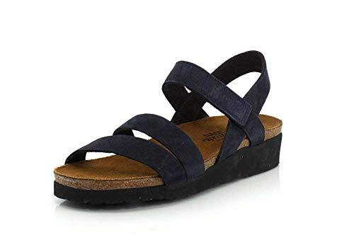 Naot Footwear Damen Kayla Sandalen, (Marineblauer Samt Nubuk), 42 EU