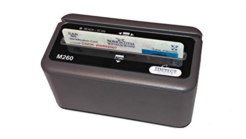 IDetect ID Scanners - ID Card Reader with Updated Smart Scanning Software | Age verification, Driver License and Smart Magnetic Card Reader | Perfect for PC, Laptops or POS (No Photo)