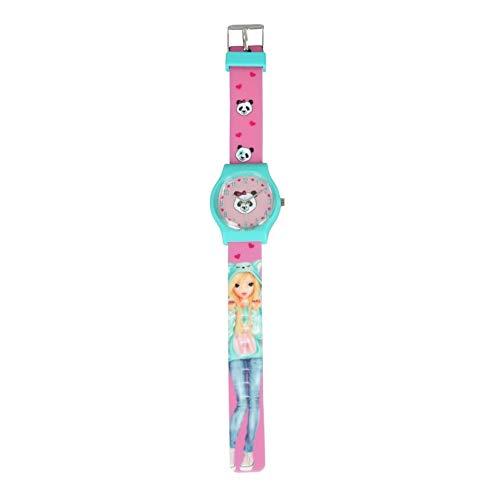 Depesche TOP-Model spritzwassergeschützte Armbanduhr (1 Stück, Nadja)