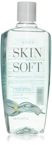 AVON SKIN SO SOFT Bath oil, Original Scent, 16.9 Fl Oz