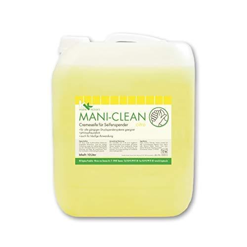KK Mani-Clean Citro | Cremeseife | Seife | Handwaschseife | 10 Liter Kanister