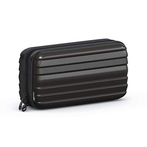 stardis Kosmetiktasche Hartschale Kulturtasche schwarz
