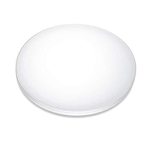 AKAYLAY Plafoniera LED Con Sensore di Movimento,12W 1200LM 6500K Lampada da Soffitto Con Sensore Radar per Scale,Portico,Balcone,Garage