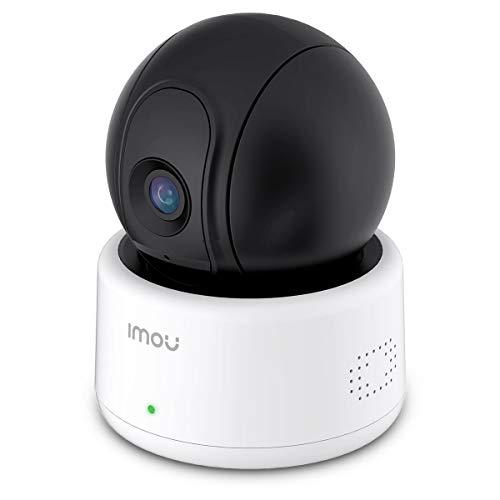 Imou 1080P Cámara de Vigilancia Interior Visión Nocturna, Cámara IP WiFi con Detector de Movimiento, Audio Bireccional, Compatible con Amazon Alexa/Google Home (Ranger)