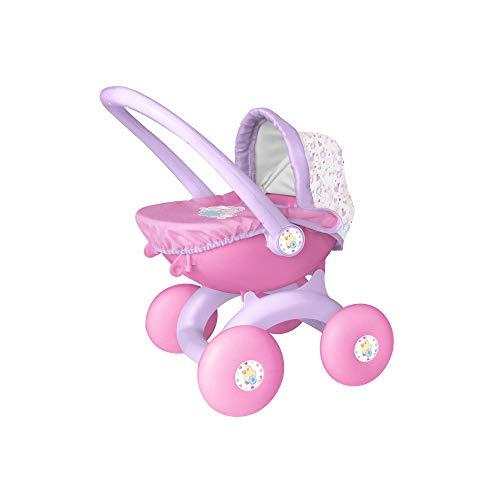 Baby Born- Cochecito de muñecas, Color Rosa (HTI 1423576)