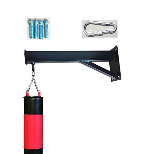 Boxsackhalterung Schwere Boxsack-Wandhalterung Wand- Haken Dreieck Lastauslegerverlängerung Metall Innenhaus, Schwarz SHIJINHAO (Color : Black, Size : A-40CM)