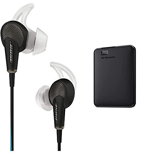 Bose Quietcomfort 20 Auriculares In-Ear Compatible con Dispositivos Apple, con...