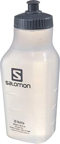 Salomon, Unisex-Trinkflasche, 3D BOTTLE, 600 ml, Weiß (Durchsichtig), LC1334400