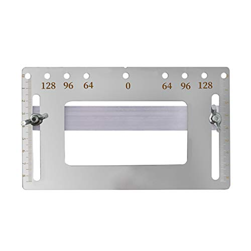 Stainless Steel Door Furniture Handle Punch Locator Template Gauge Drill Guiding