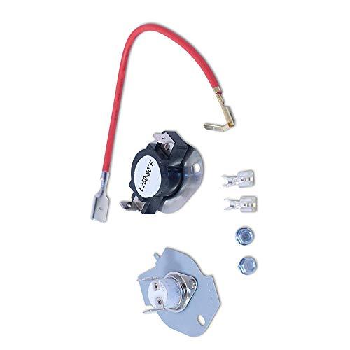 KingBra 279816 - Kit de termostato para secadora Whirlpool & Kenmore